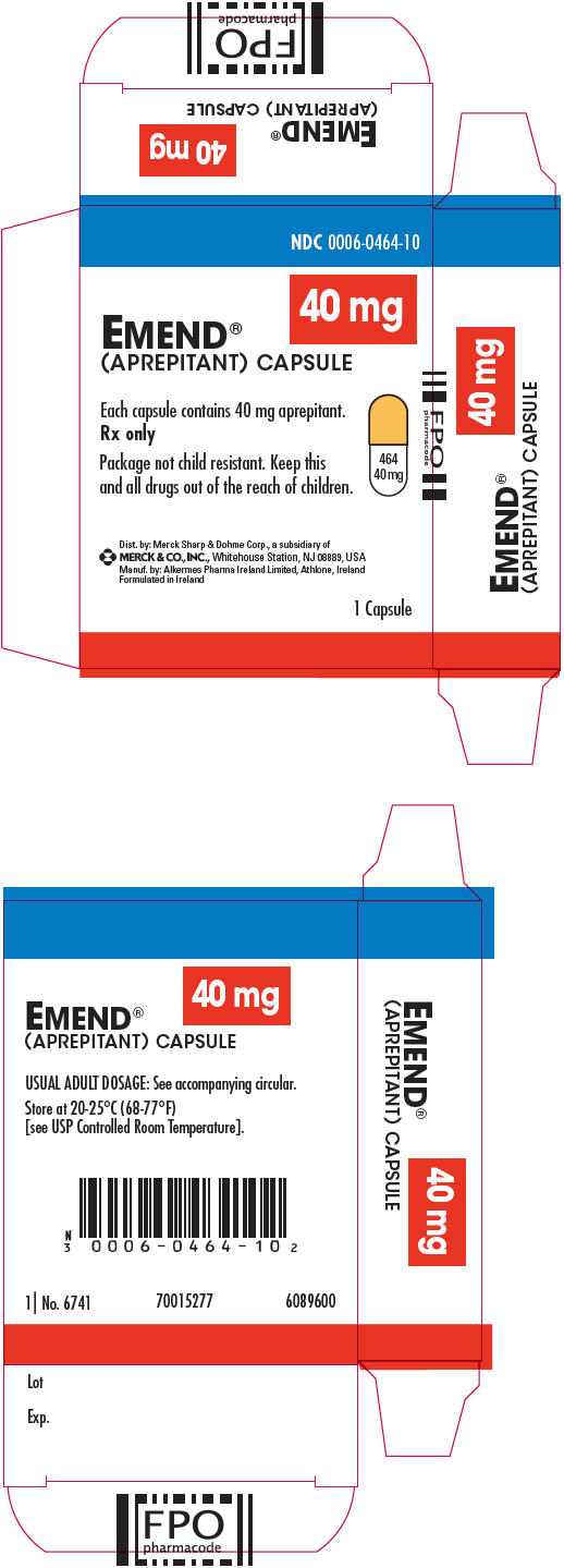 PRINCIPAL DISPLAY PANEL - 40 mg Capsule Carton