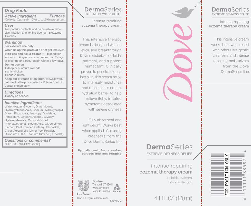Dove Dermaseries Eczema Therapy Cream (Oatmeal) Cream [Conopco Inc. D/b/a Unilever]