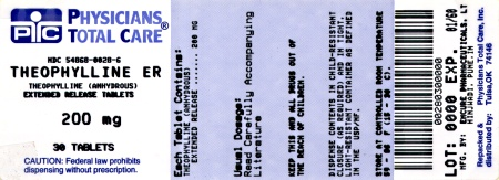image of 200 mg label