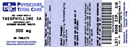 image of 300 mg label