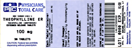 image of 100 mg label