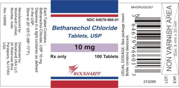 Bethanechol Chloride Tablet [Wockhardt Limited]