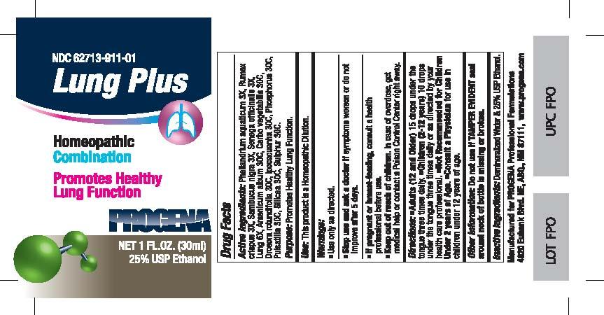 Progena Lung Plus (Phellandrium Aquaticum, Rumex Crispus, Sambucus Nigra, Senega Officinalis, Lung, Arsenicum Album, Carbo Vegetabilis, Drosera Rotundifolia, Ipecacuanha, Phosphorus, Pulsatilla, Silicea, Sulphur) Liquid [Meditrend, Inc. Dba Progena Professional Formulations]