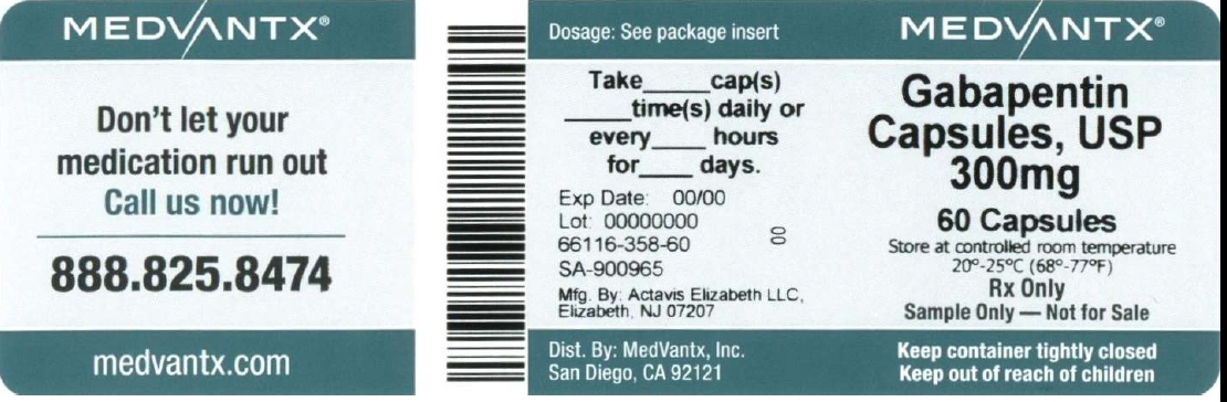 gabapentin 300mg capsules