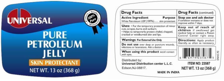 Universal Pure Petroleum (White Petroleum) Jelly [Universal Distribution Center Llc]