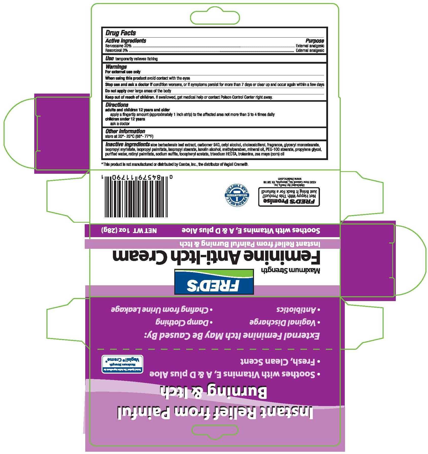 Benzocaine And Resorcinol Cream [Pharma Pac, Llc]