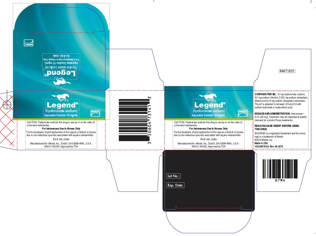 Legend (Hyaluronate Sodium) Injection, Solution [Merial, Inc.]