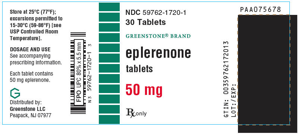 Eplerenone Tablet, Film Coated [Greenstone Llc]