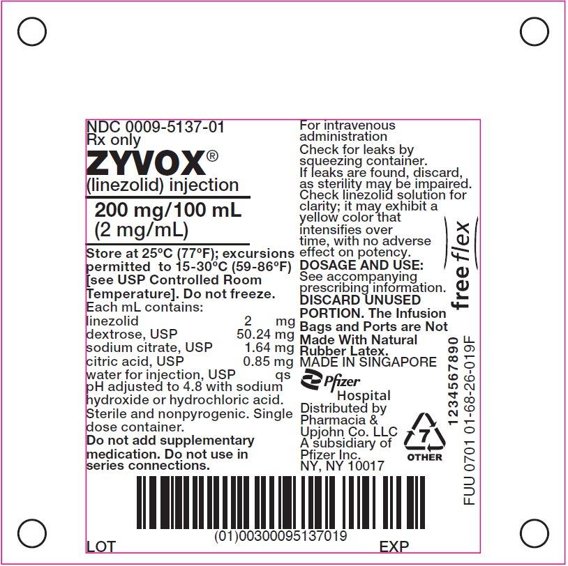 PRINCIPAL DISPLAY PANEL - 100 mL Bag Label
