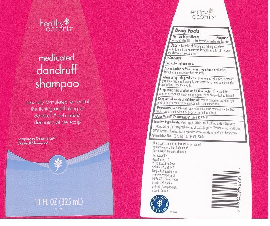Healthy Accents (Selenium Sulfide) Liquid [Dza Brands Llc]