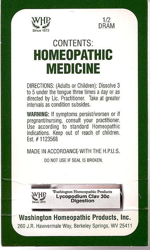Lycopodium Kit Refill (Lycopodium Clavatum Spore) Pellet [Washington Homeopathic Products]