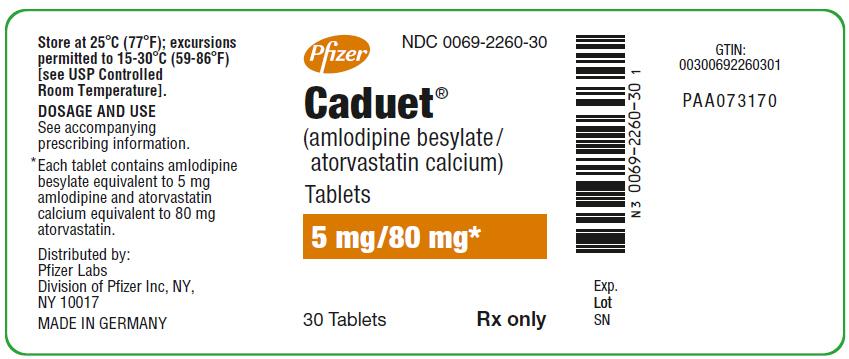 PRINCIPAL DISPLAY PANEL - 5 mg/20 mg Tablet Bottle Label