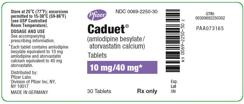 PRINCIPAL DISPLAY PANEL - 10 mg/10 mg Tablet Bottle Label