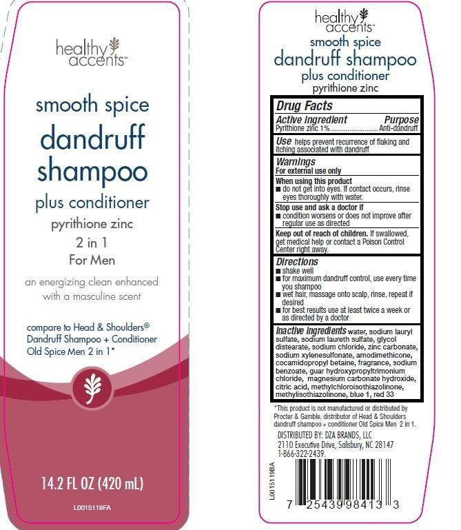 Dandruff (Pyrithione Zinc) Shampoo [Dza Brands, Llc]
