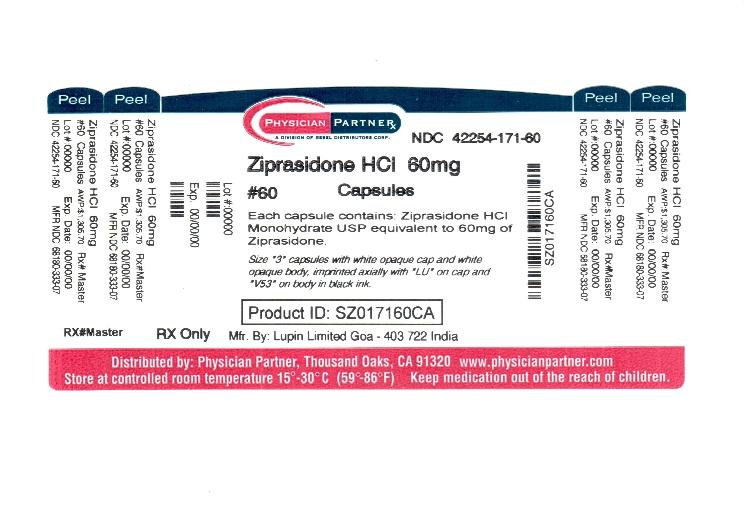 Ziprasidone HCl 60mg