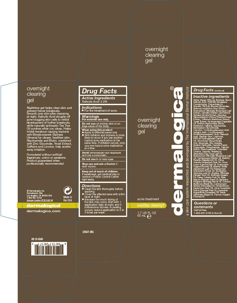 Overnight Clearing (Salicylic Acid) Gel [Dermalogica, Inc.]