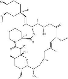 ELIDEL (pimecrolimus)  structural formula