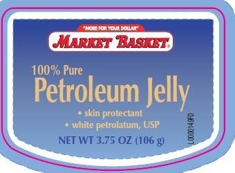Petroleum Skin Protectant (White Petrolatum) Jelly [Demoulas Supermarmkets]