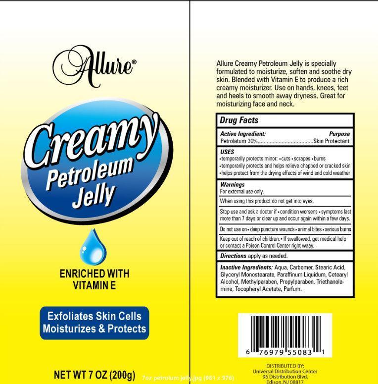 Allure Creamy Petroleum (Petrolatum) Jelly [Universal Distribution Center Llc]
