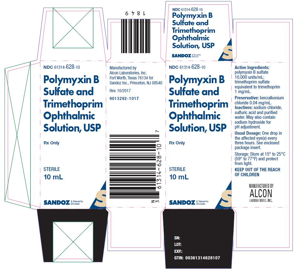 Polymyxin B Sulfate And Trimethoprim Solution [Falcon Pharmaceuticals, Ltd.]
