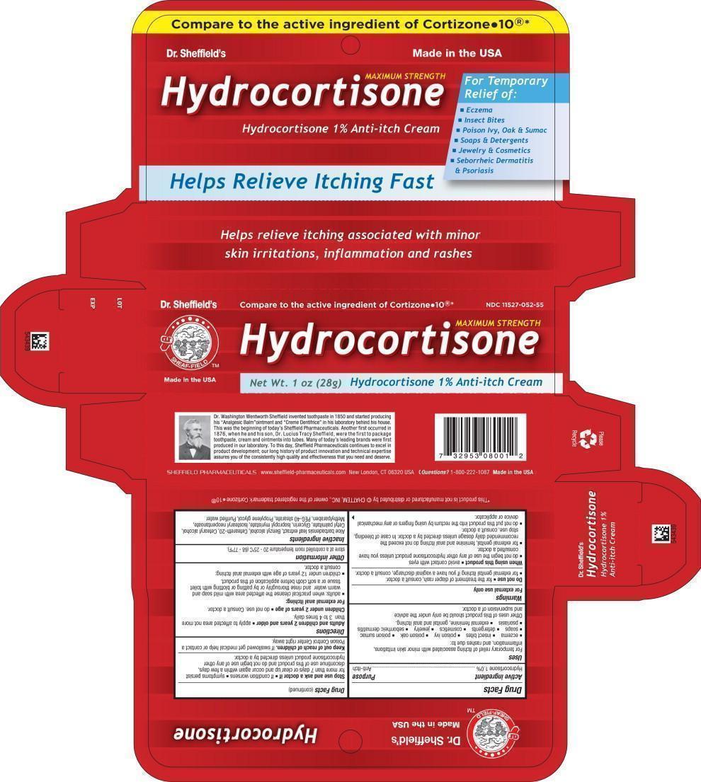 Dr. Sheffield Hydrocortisone Anti Itch (Hydrocortisone) Cream [Faria Llc Dba Sheffield Pharmaceuticals]