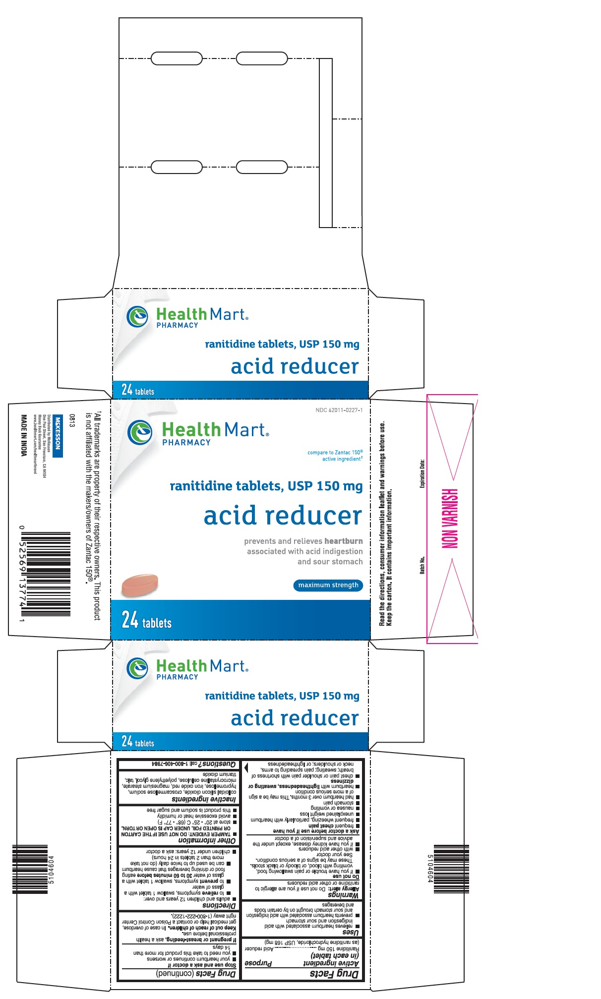 Acid Reducer (Ranitidine ) Tablet [Mckesson]
