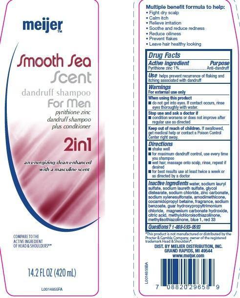 Dandruff (Pyrithione Zinc) Shampoo [Meijer Distribution, Inc]