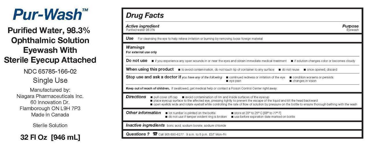 Pur-wash (Water) Solution [Niagara Pharmaceuticals Inc.]