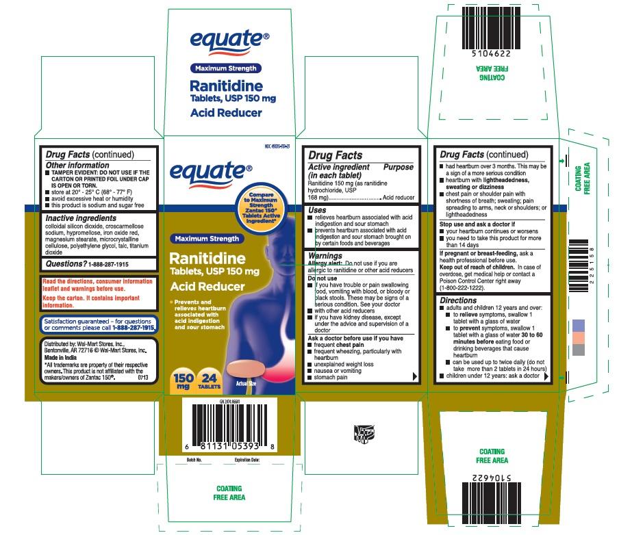 Acid Reducer (Ranitidine) Tablet [Wal-mart Stores, Inc]