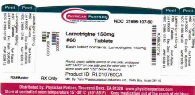 Lamotrigine 150mg
