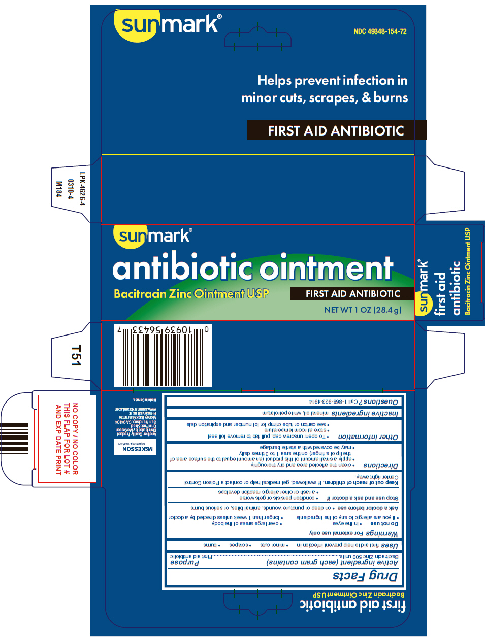 Antibiotic Bacitracin Zinc (Bacitracin Zinc) Ointment [Mckesson]
