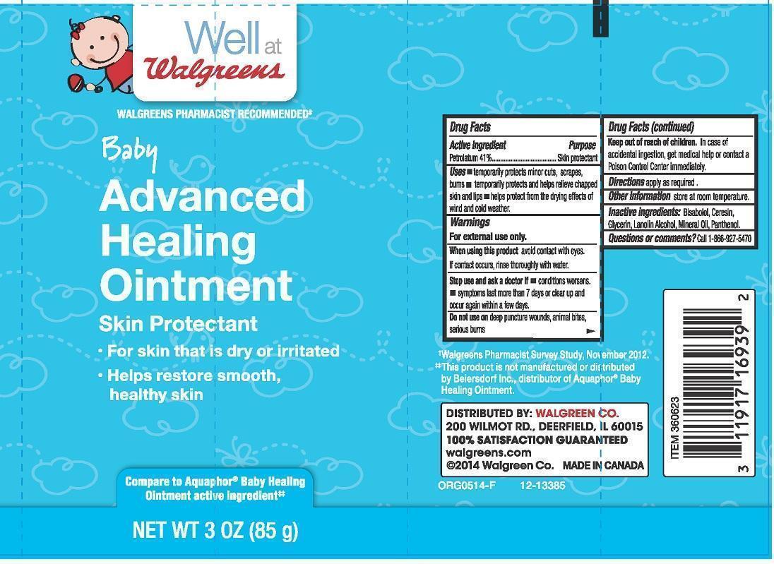 Well At Walgreens Baby Advanced Healing (Petrolatum) Lotion [Walgreen Company]
