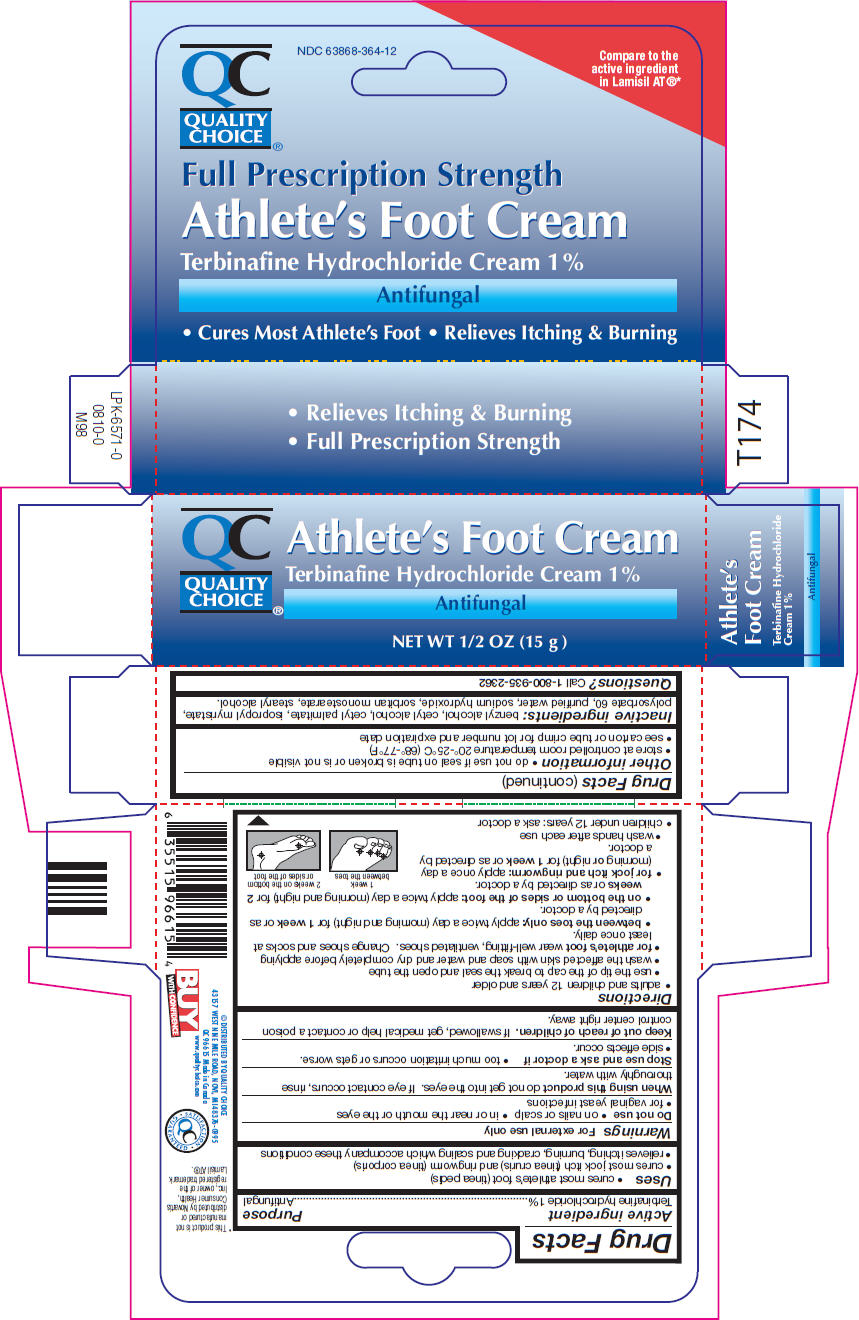 Athletes Foot (Terbinafine Hydrochloride) Cream [Chain Drug Marketing Association, Inc.]