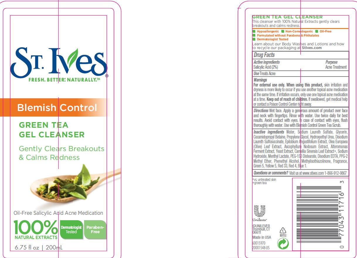 St. Ives Green Tea Cleanser (Salicylic Acid) Emulsion [Conopco Inc. D/b/a Unilever]