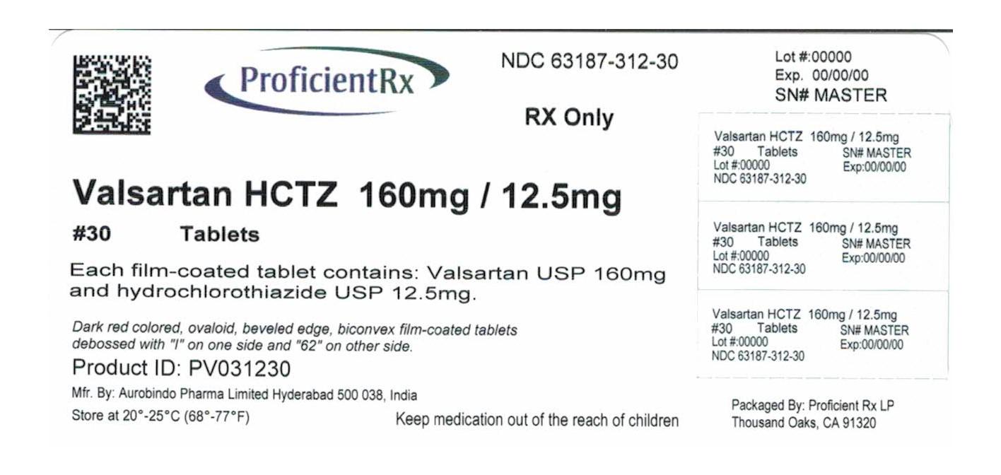 Valsartan And Hydrochlorothiazide Tablet, Film Coated [Proficient Rx Lp]