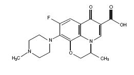 Ofloxacin Structural Formula