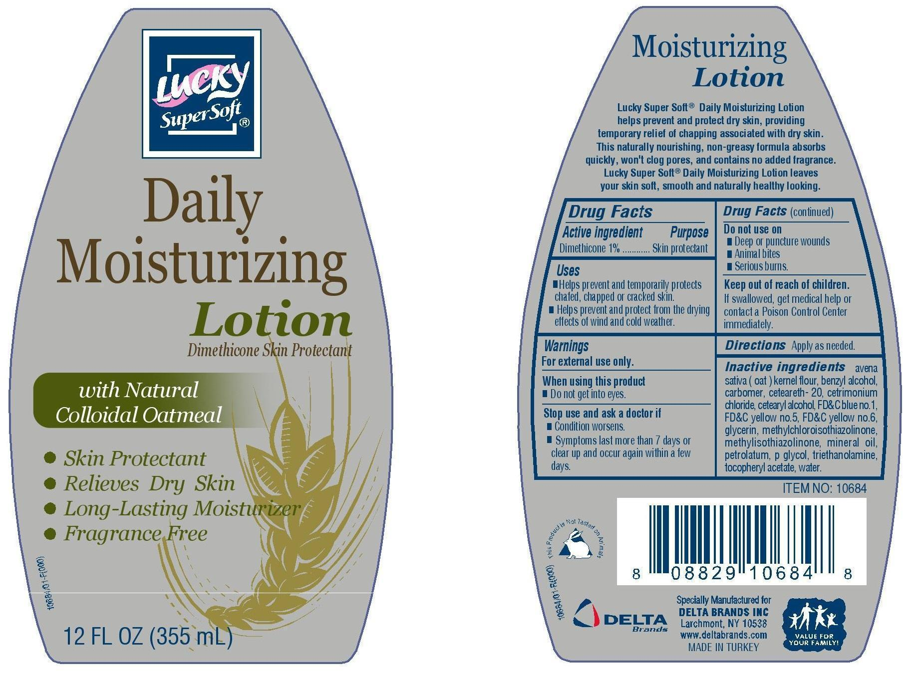 Lucky Daily Moisturizing (Dimethicone) Lotion [Delta Brands Inc]
