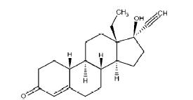 Levonorgestrel Structural Formula