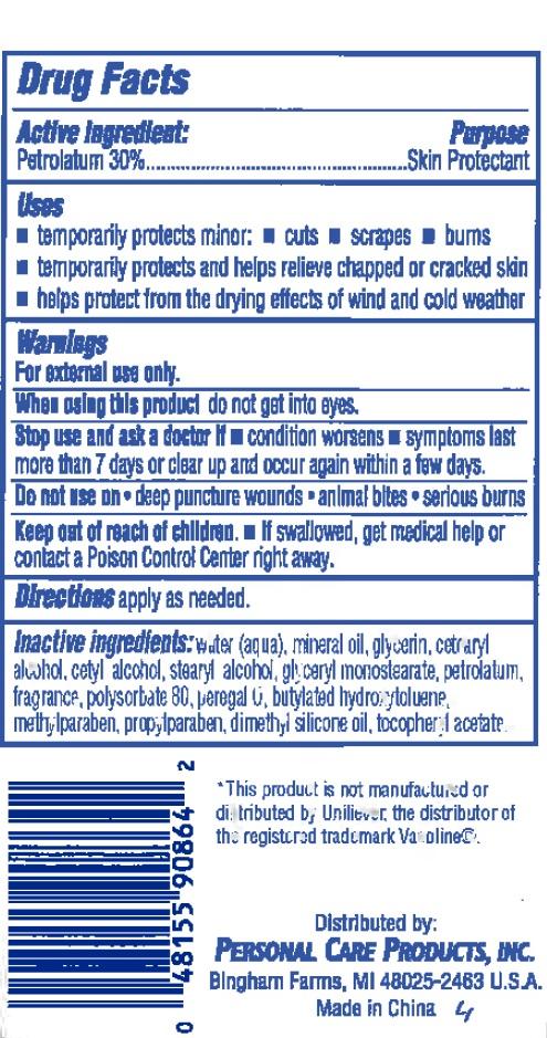 Personal Care Creamy Petroleum Jelly (Petrolatum) Cream [Personal Care Products, Llc]