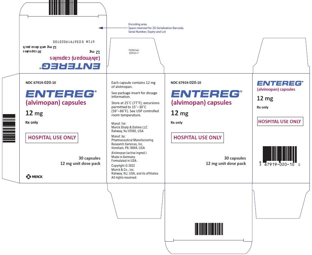 PRINCIPAL DISPLAY PANEL - 12 mg Capsule Blister Pack Carton