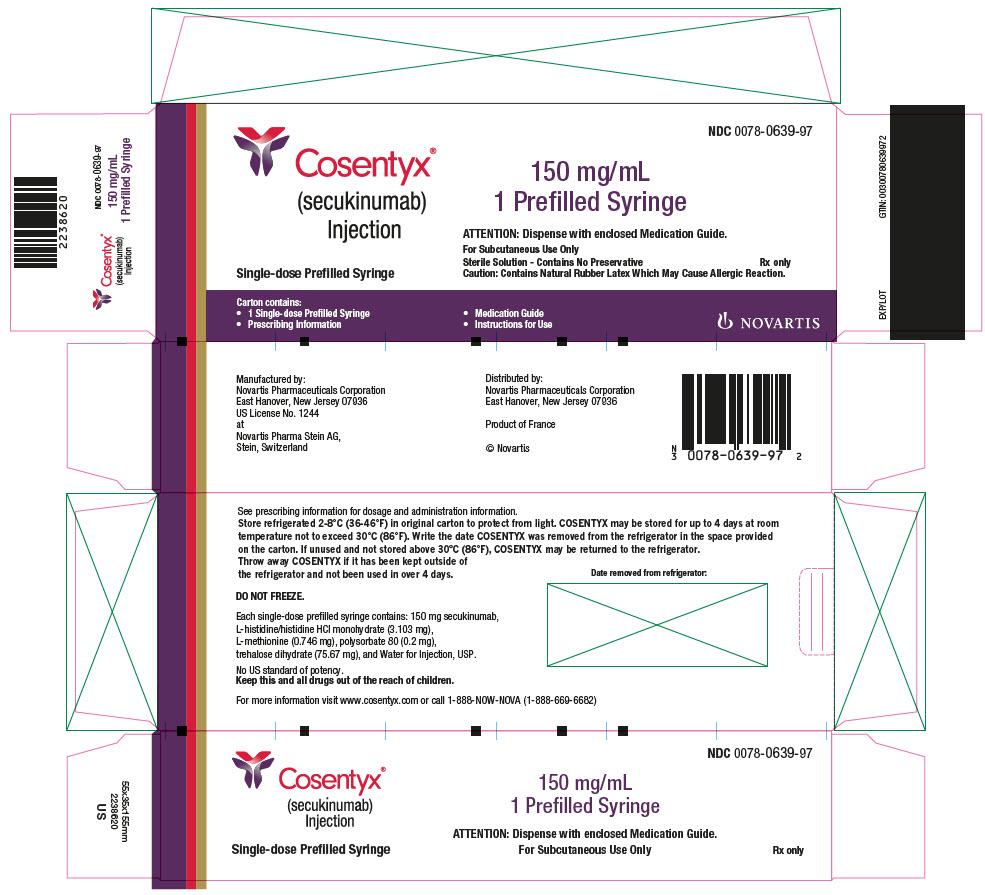 Cosentyx (Secukinumab) Injection [Novartis Pharmaceuticals Corporation]