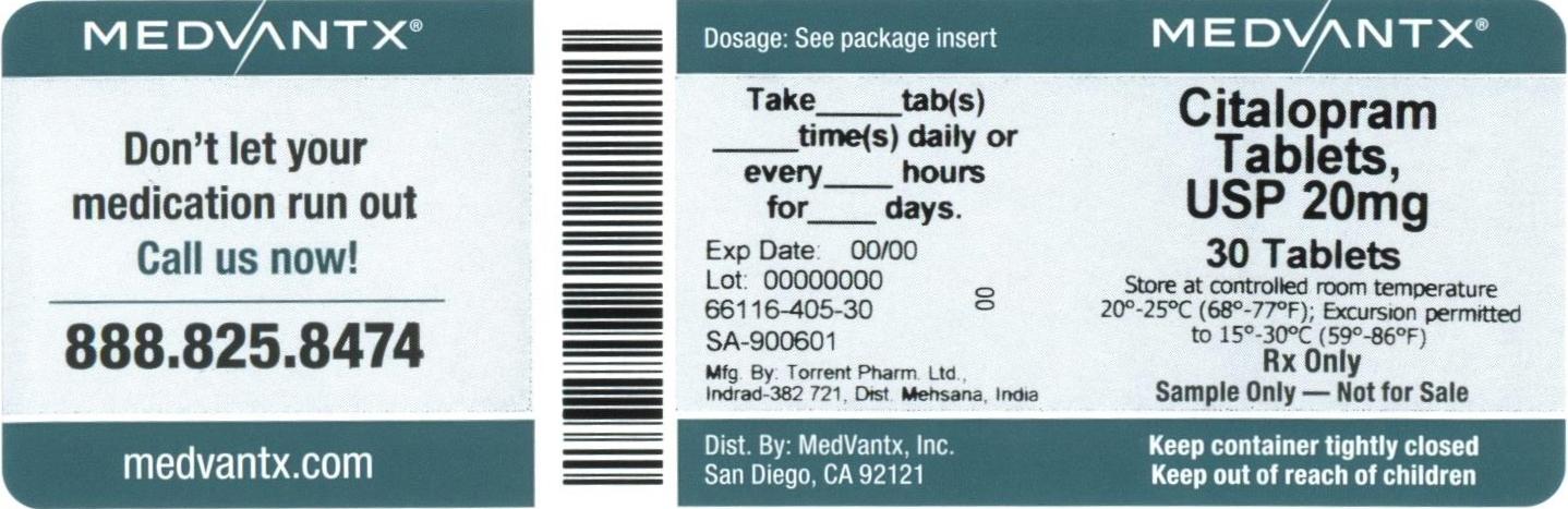 Citalopram Hydrobromide Tablet [Medvantx, Inc.]