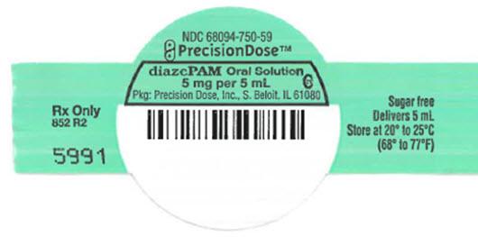 Diazepam Solution [Precision Dose Inc.]