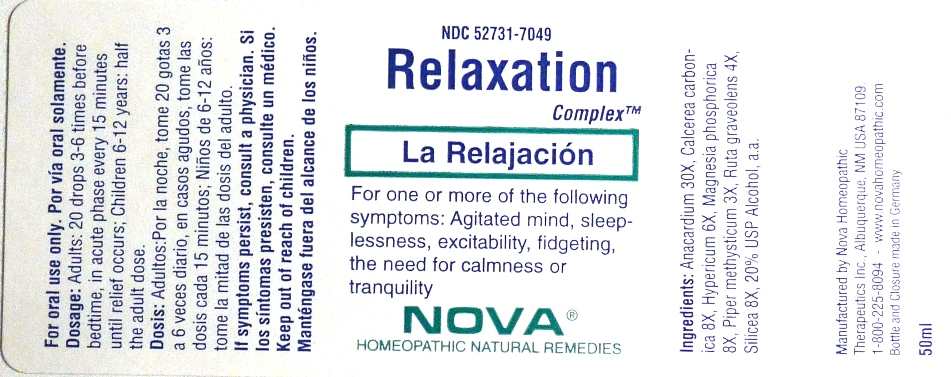 Relaxation Complex Bottle
