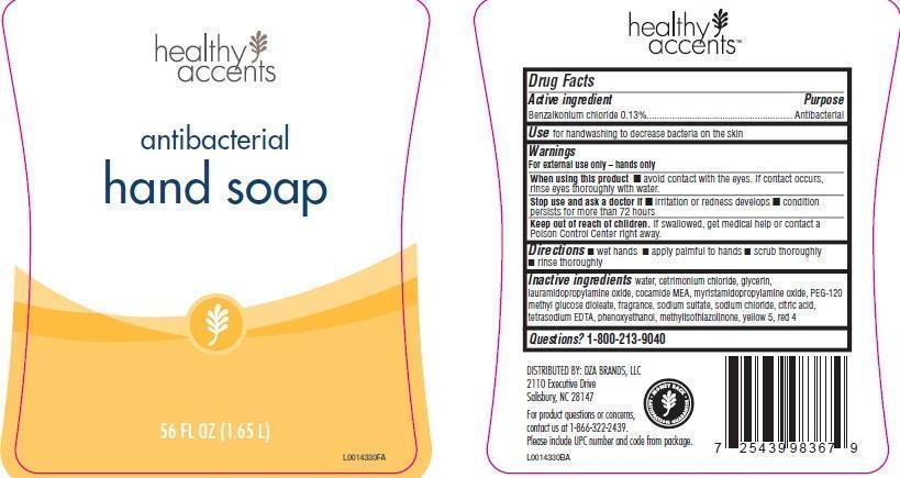 Hand Wash (Benzalkonium Chloride) Soap [Dza Brands, Llc]
