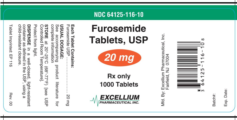 Furosemide (Furosemide) Tablet [Excellium Pharmaceutical Inc.]