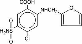 furosemide structure