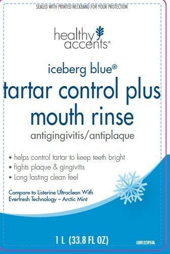 Tartar Control Plus (Eucalyptol, Menthol, Methyl Salicylate, Thymol) Mouthwash [Dza Brands, Llc]