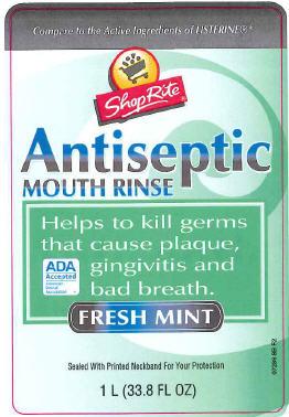 Antiseptic Mouth Rinse (Eucalyptol. Menthol, Methyl Salicylate, Thymol) Mouthwash [Wakefern Food Corporation]