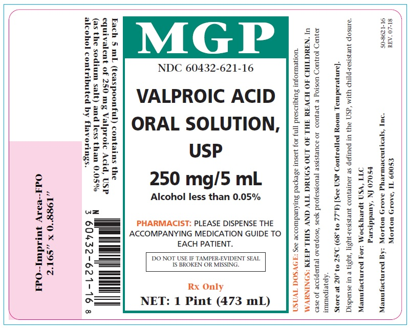 Valproic Acid Label